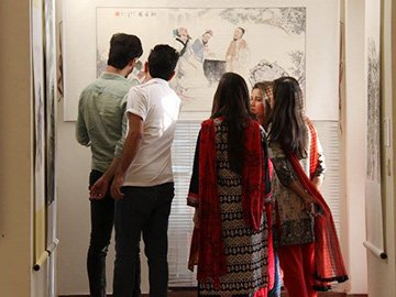 Chinese & Pakistani Arts Exhibition