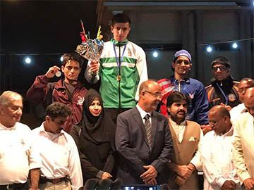Usman Wazir Gold medal champion
