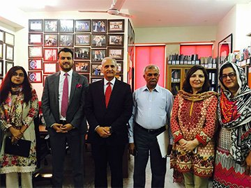 Vice Chancellor Punjab University Visits RCI